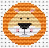 Lion Cross Stitch - Sew Simple