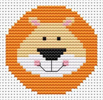 Lion Cross Stitch - Sew Simple