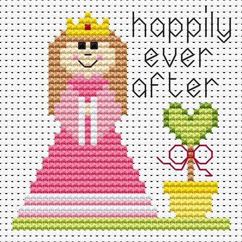 Princess Cross Stitch - Sew Simple