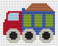 Truck Cross Stitch - Sew Simple