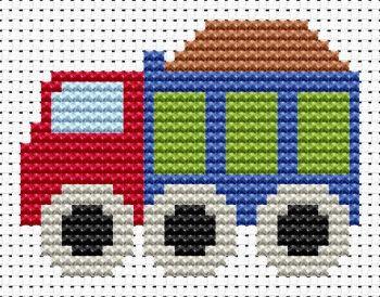 Truck Cross Stitch - Sew Simple
