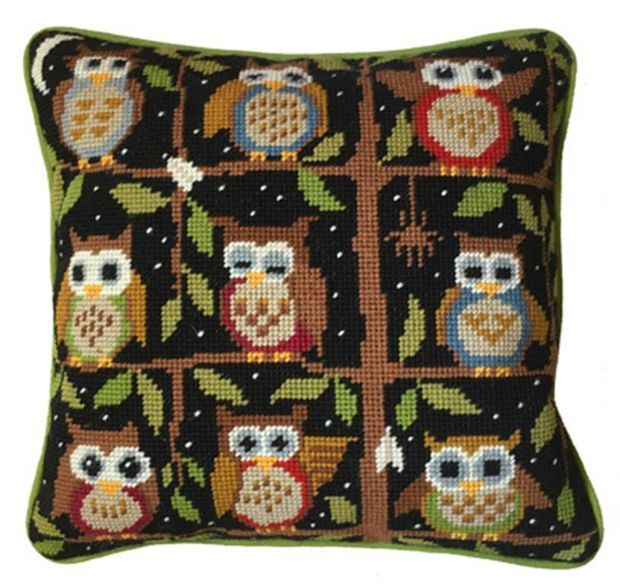 Night Owls Tapestry Kit
