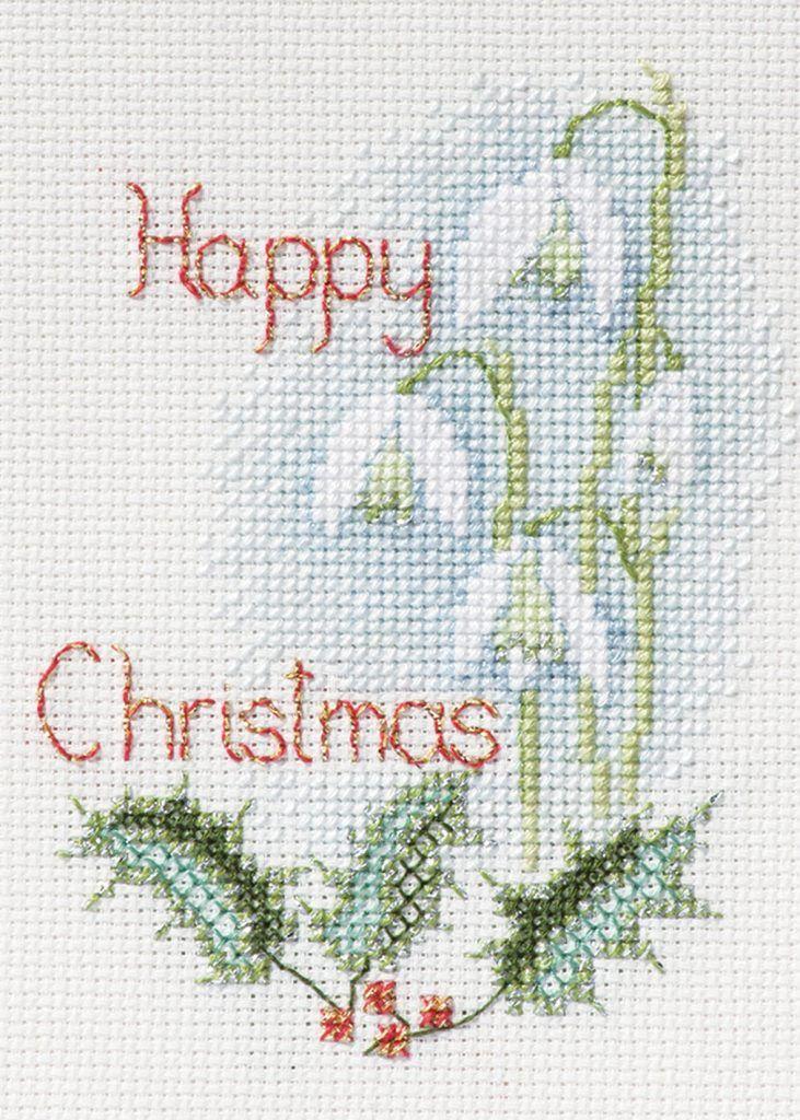 Snowdrops - Christmas Card