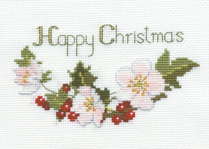 Christmas Rose - Christmas Card