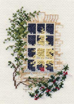 Christmas Window - Christmas Card