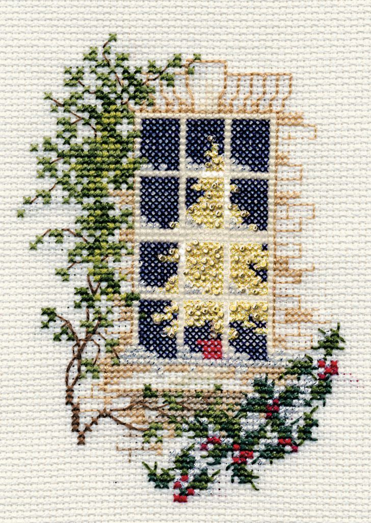 Christmas Window - Christmas Card