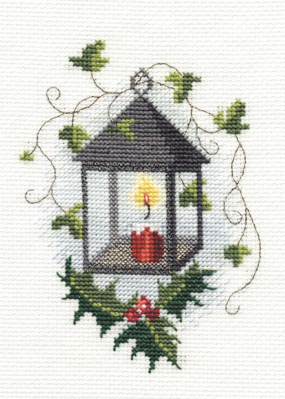 Lantern - Christmas Card