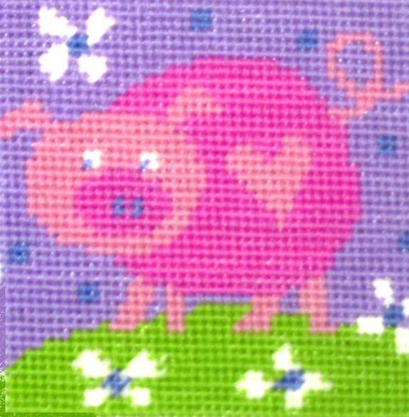 Pig - Starter Tapestry Kit
