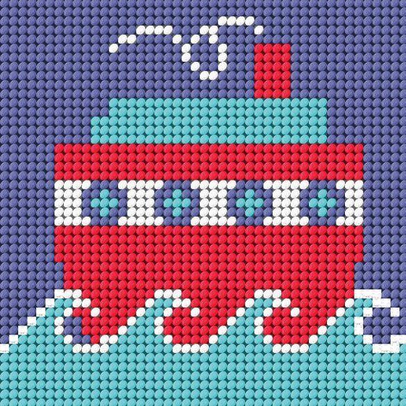Ship - Starter Tapestry Kit