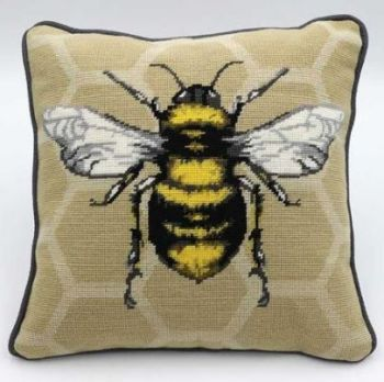Bee on Honeycomb Tapestry Kit