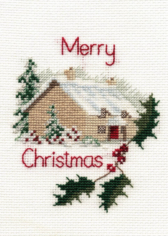 Christmas Cottage - Christmas Card