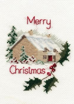 Christmas Cottage - Christmas Card