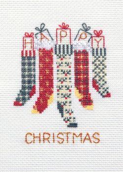 Christmas Stockings - Christmas Card