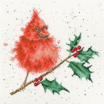 Festive Feathers Cardinal - Hannah Dale