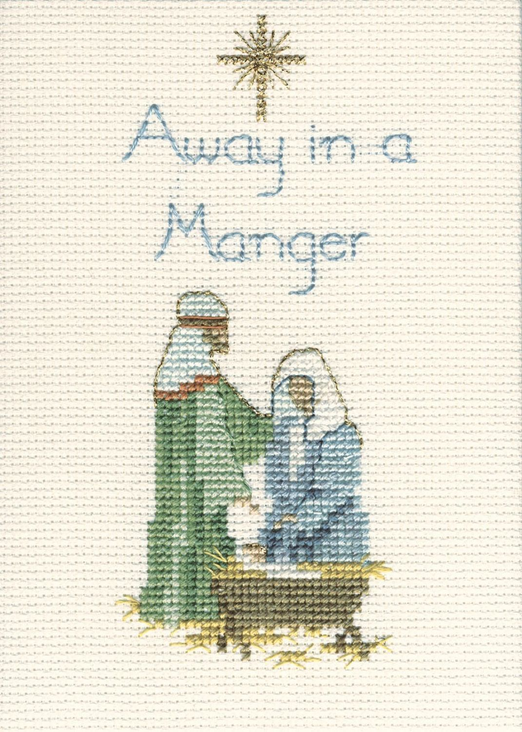 Away in a Manger - Christmas Card