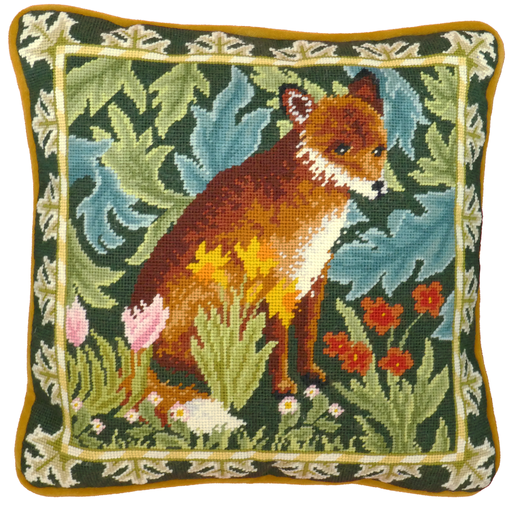 Woodland Fox Tapestry - Bothy Threads