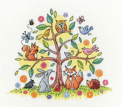 Tree of Life Cross Stitch - Heritage Crafts