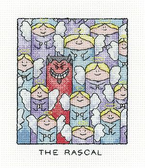 The Rascal - Simply Heritage Cross Stitch