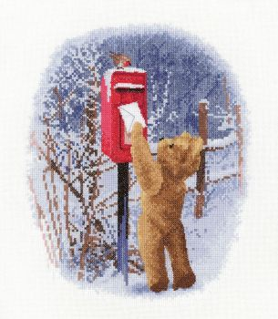 Christmas Post - John Clayton Cross Stitch