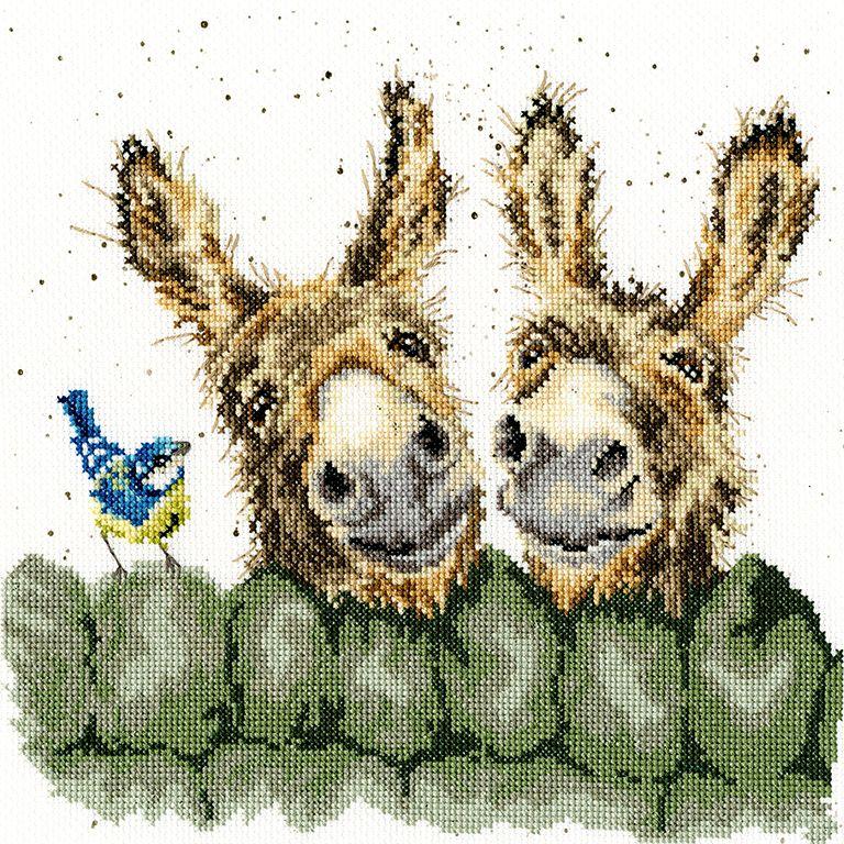Hee Haw Donkey cross stitch - Hannah Dale