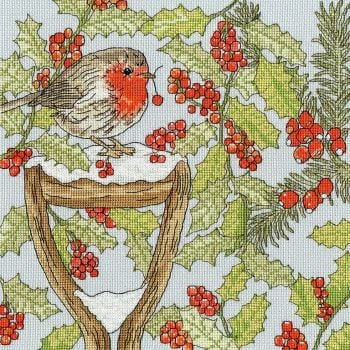 Christmas Garden Cross Stitch