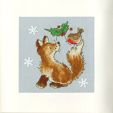 Christmas Friends Christmas Card