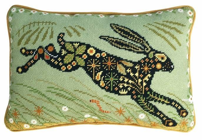 Painted Hare Tapestry Kit