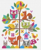 Forest Fun Cross Stitch Kit