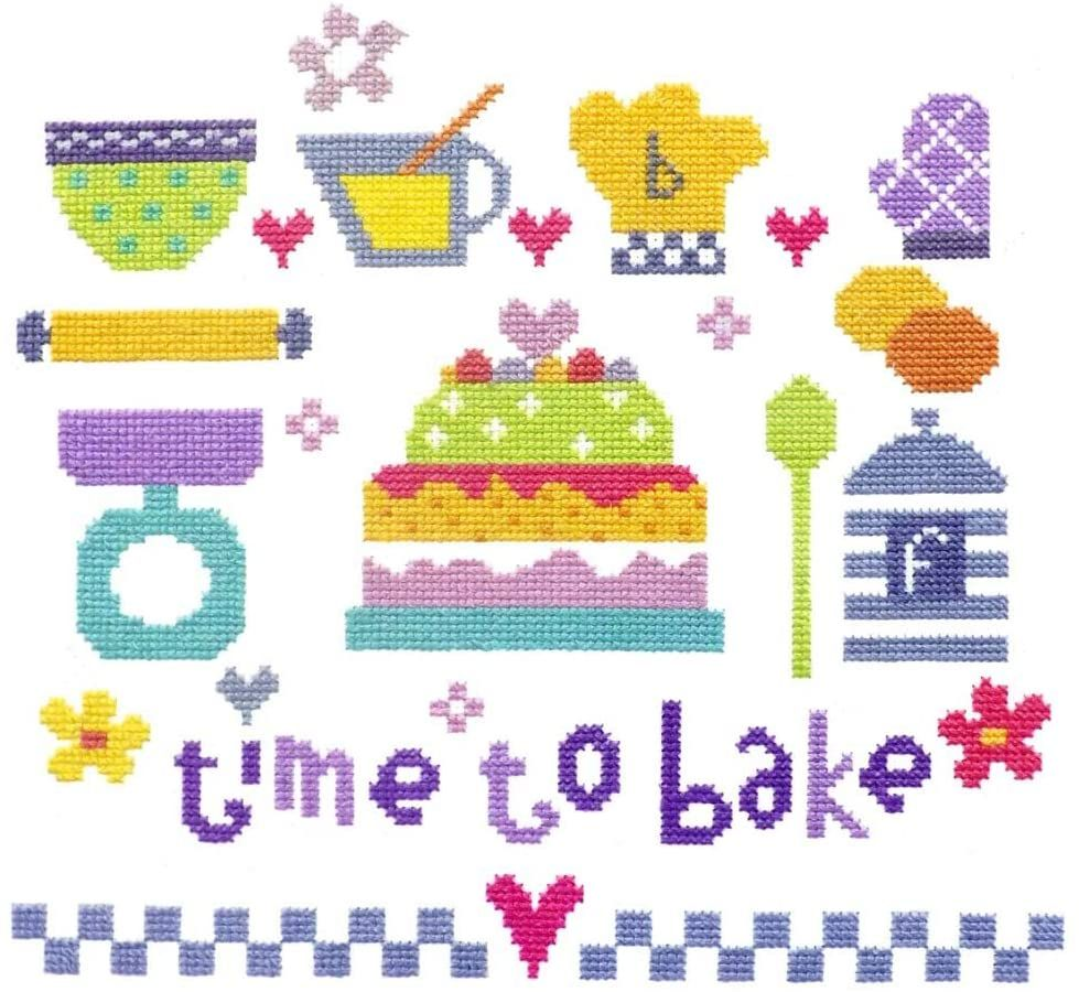 Time to Bake Cross Stitch