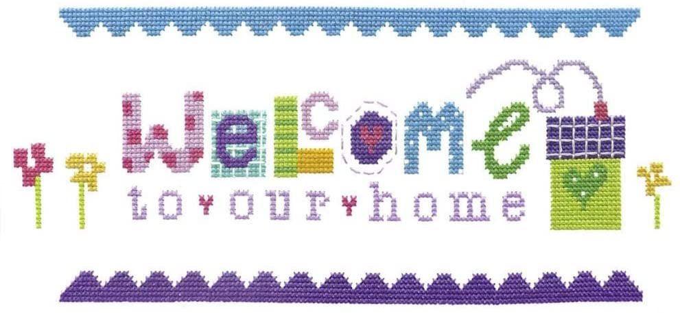 Welcome Home Sampler Cross Stitch