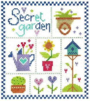 Secret Garden Cross Stitch Kit