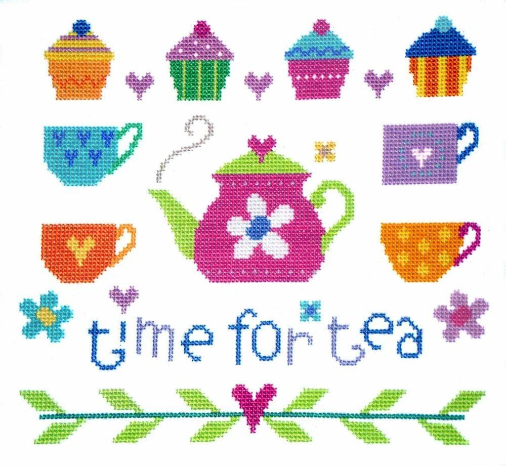 Time for Tea - The Stitching Shed Cross Stitch