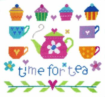 Time for Tea - The Stitching Shed