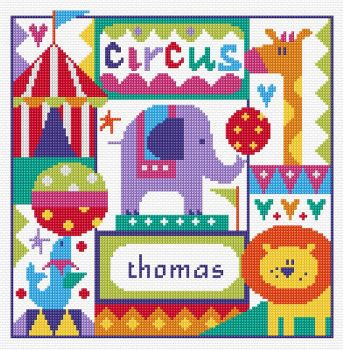 Circus Sampler Cross Stitch