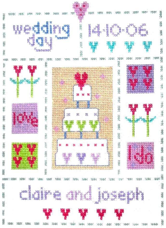 Wedding Sampler -  Cross Stitch