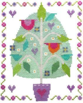 Tree of Love -  Cross Stitch Kit