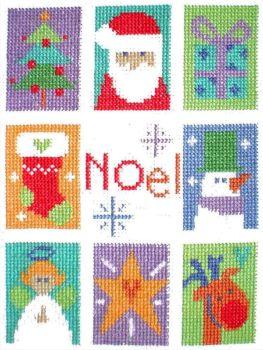Noel - Christmas Cross Stitch