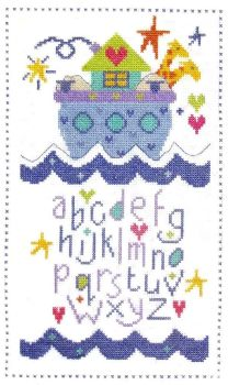 Ark Sampler -  Cross Stitch Kit