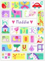 Name - Alphabet Sampler