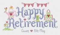 Retirement Sampler Kit - Nia Cross Stitch