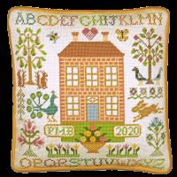Orchard House Tapestry Sampler - Bothy Threads