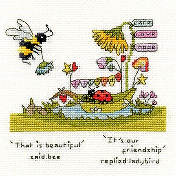 Beautiful Friendship Bee - Bothy Threads