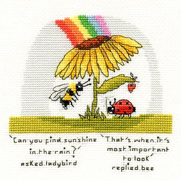 Finding Sunshine Bee - Bothy Threads