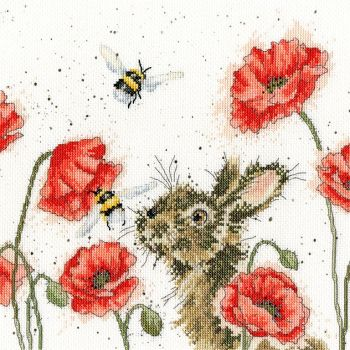Let it Bee cross stitch - Hannah Dale
