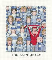 The Supporter - Simply Heritage Football Cross Stitch