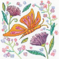 Orange Butterfly - Heritage Crafts