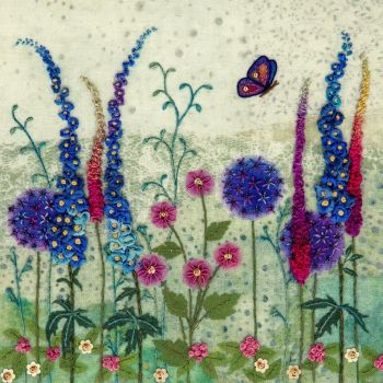 Cottage Garden Embroidery - Beaks and Bobbins