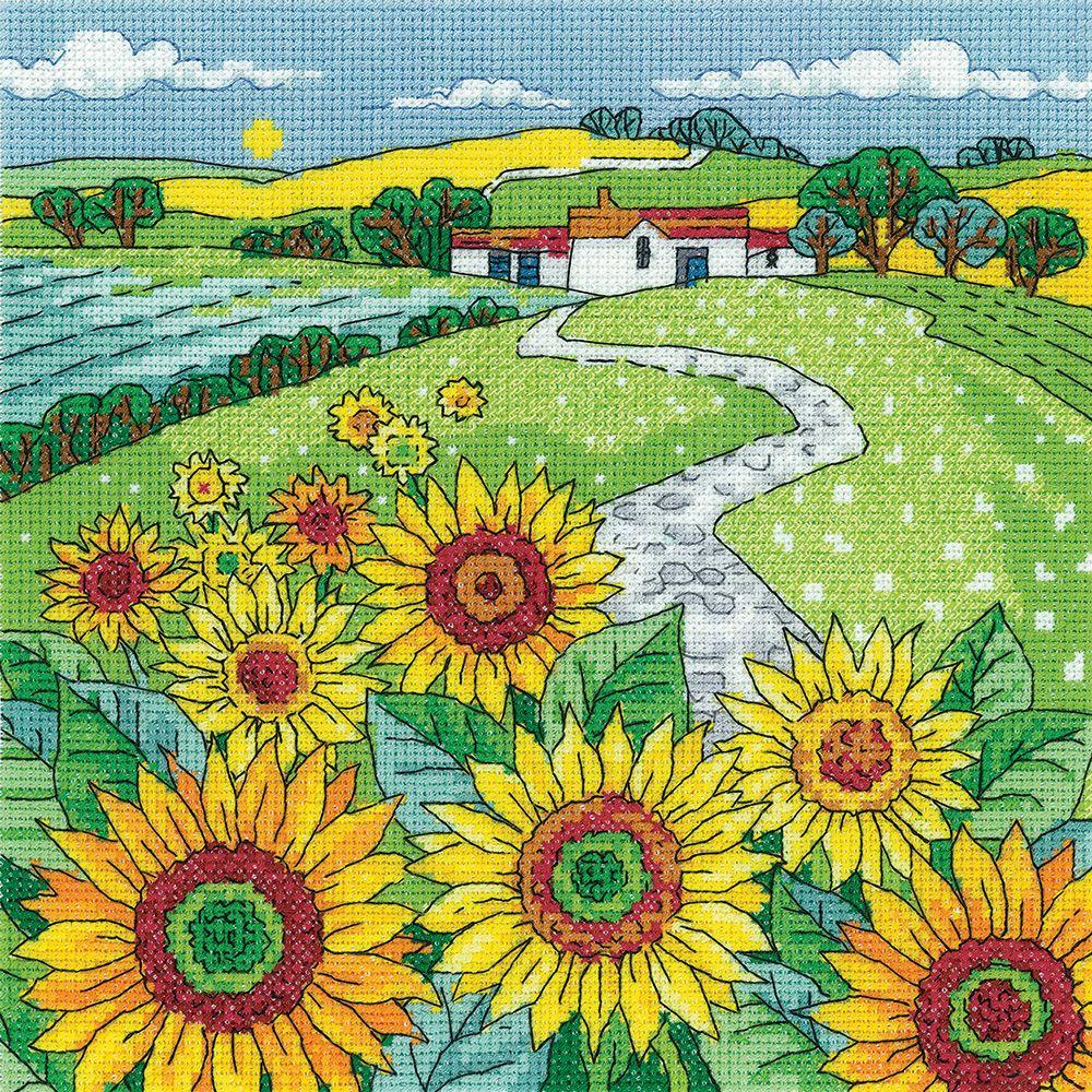 Sunflower Landscape - Heritage Crafts