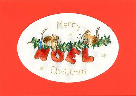 First Noel Cross Stitch Card