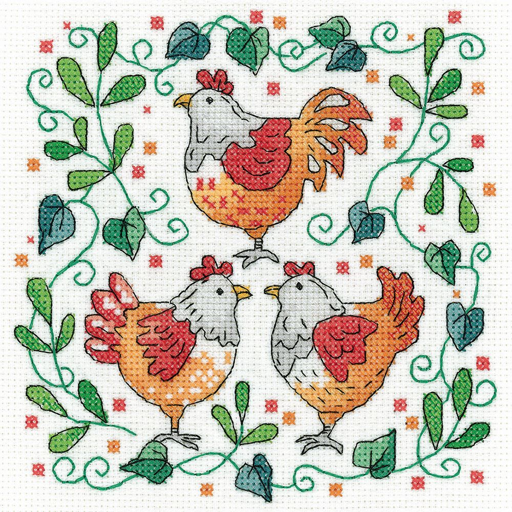 Three French Hens - Heritage Crafts